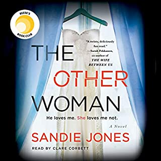 The Other Woman                   By:                                                                                                                                 Sandie Jones                               Narrated by:                                                                                                                                 Clare Corbett                      Length: 9 hrs and 39 mins     4,991 ratings     Overall 4.4