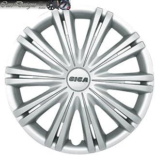 4 Radkappen 16 Zoll  DRA silber passend für Alfa Audi Radblenden Radzierblenden