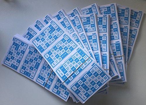 Binvi 4800 cartones de Bingo