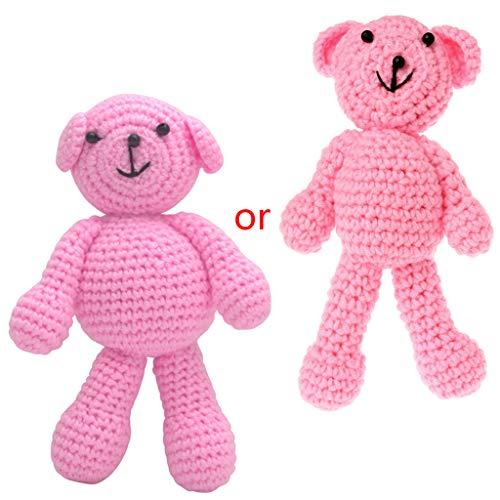 A0127 Neugeborenes Baby M?dchen Jungen tragen Fotografie Prop Foto h?keln Stricken Spielzeug