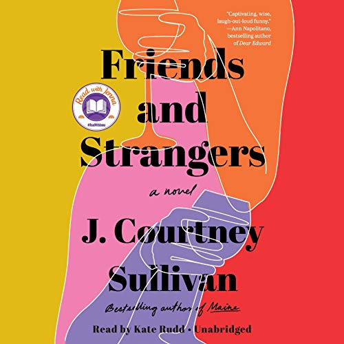 Friends and Strangers audiobook cover art