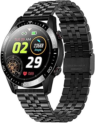 wyingj Hombres s Smart Watch Bluetooth llamada reloj inteligente fitness Tracker IP68 impermeable deportes Watch-B