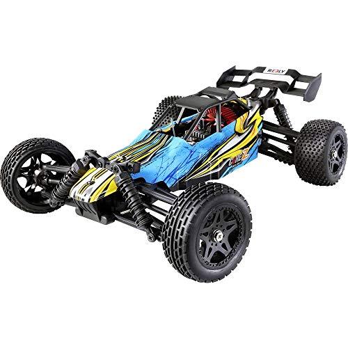 Reely CORE Z 4-farbig Brushed 1:10 XS RC Modellauto Elektro Buggy Allradantrieb (4WD) RTR 2,4 GHz inkl. Akku und Ladeka