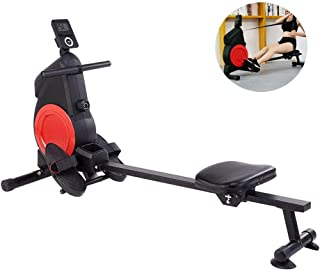Rowing Machine,Mute Rowing Machine Multifunctional Home Fitness Foldable Adjustable Resistance,Rowing Machine for Home Use...