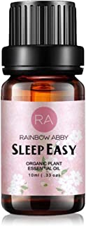RAINBOW ABBY Sleep Easy Essential Oil - 100% Pure, Best Organic Therapeutic Grade Blend Essential Oil - 10 ml
