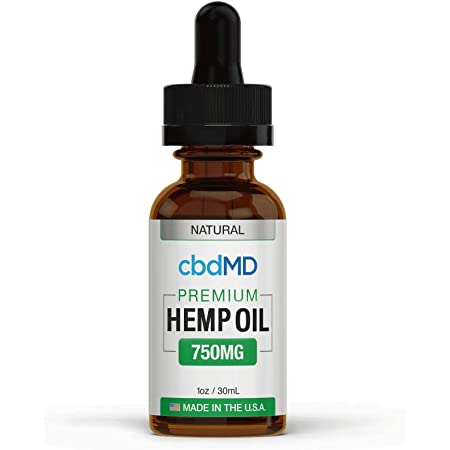 750mg 1oz/30mL Pure Organic Premium Hemp Oil Tincture Drops for Pain Relief Anxiety Sleep Mood Stress Support 100% USA Grown Hemp Extract (Natural)