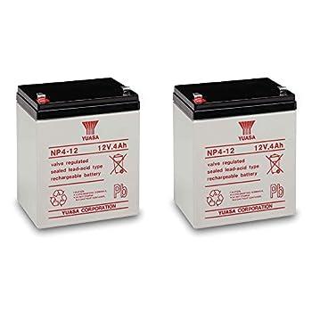 Yuasa NP4-12 Battery 12 Volt 4 Amp Sealed Lead Acid Battery  2