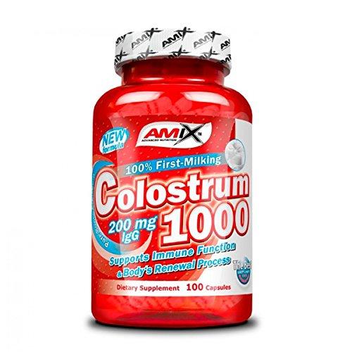 Amix Colostrum 100 Capsulas 0.2 200 g