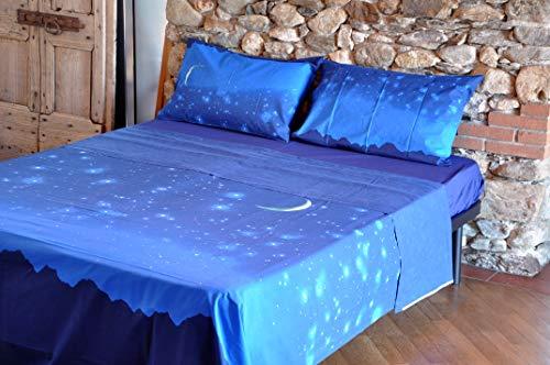 Bassetti/-/Juego de cama de matrimonio Lluvia de estrellas