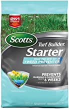 Scotts Turf Builder Starter Food for New Grass Plus Weed Preventer (10,000 sq. ft.)
