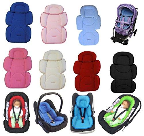 Sitzverkleinerer für Babyschale Kindersitz Grau