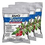 Zand HerbaLozenge Zumka | Vitamin C Lozenges w/Zinc & Herbal Extracts for Soothing Throat | No Corn Syrup or Cane Sugar | Yummy Cherry, 15ct, 3 Bags