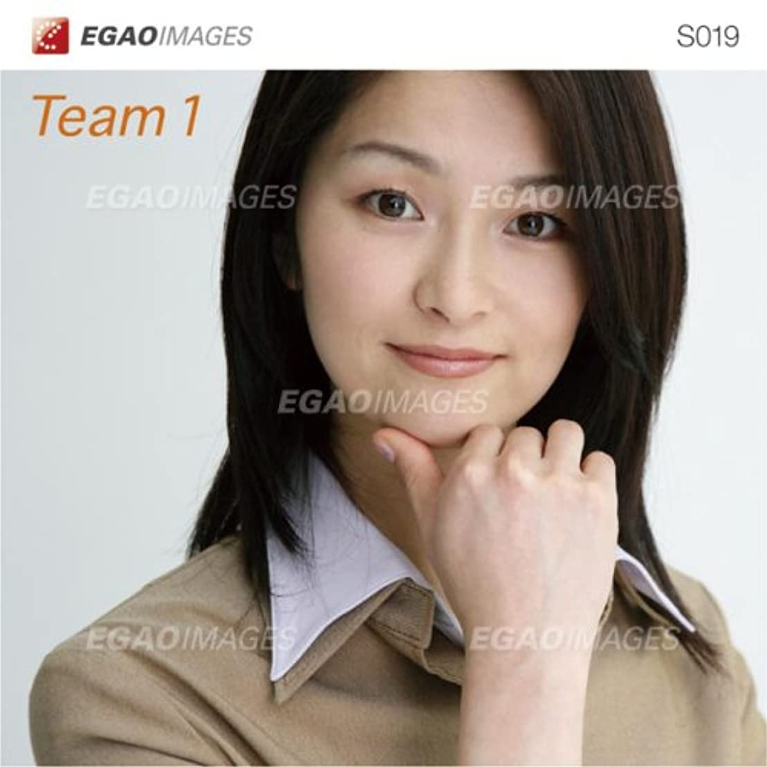 繰り返す中央鍔EGAOIMAGES S019 ビジネス「ビジネスチーム1」