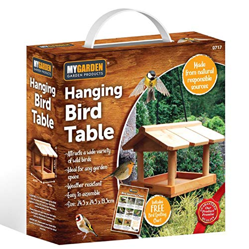 SA Products Hanging Bird Table -...