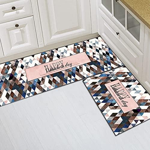HLXX Alfombra antideslizante de dibujos animados, alfombra de cocina, alfombra absorbente para sala de estar, baño, baño, entrada, alfombra de entrada A8, 40 x 60 cm