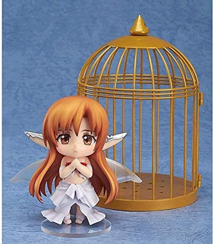 Sword Art Online/Sao: Yuuki Asuna Q Version Nendoroid Bird cage 10CM PVC Toys Gifts Collectibles Animations Character Model