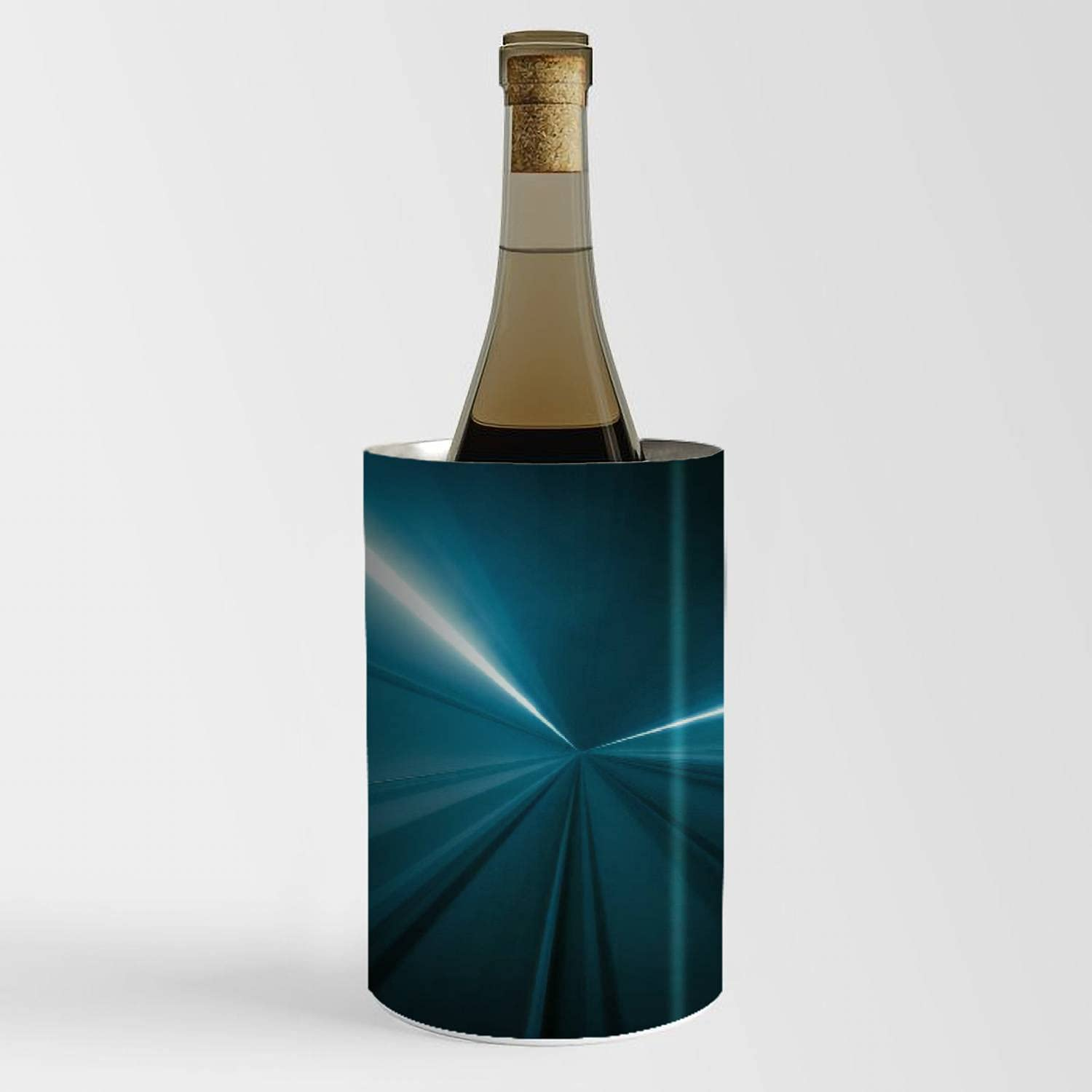 Wine Chiller Bucket - Tunnel motion trails Los Angeles Mall Max 52% OFF Champagne light speed