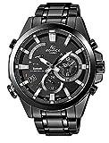 Casio EQB-510DC-1AER - Reloj (Reloj de pulsera, Masculino, Acero inoxidable, Negro, Acero...