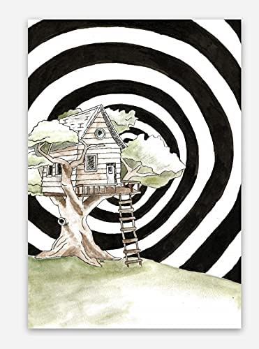 Trippy Treehouse Wholesale Vinyl Sticker - Waterproof Stickers Oklahoma City Mall and Trendy