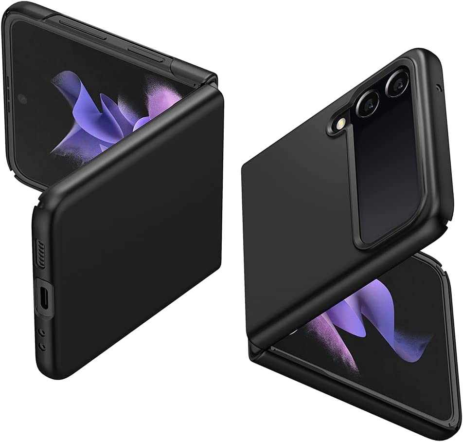 Spigen Air Skin Designed for Galaxy Z Flip 3 Case (2021) - Black