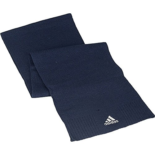 Adidas unisexe Ess Corp Écharpe, Bleu