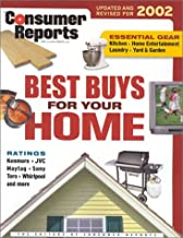 Consumer Reports Best Buys For Your Home 2002