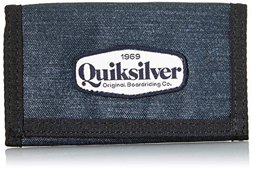 Quiksilver Boys The EVERYDAILY Patch Youth Wallets, Dark Grey Heather, 1 Size