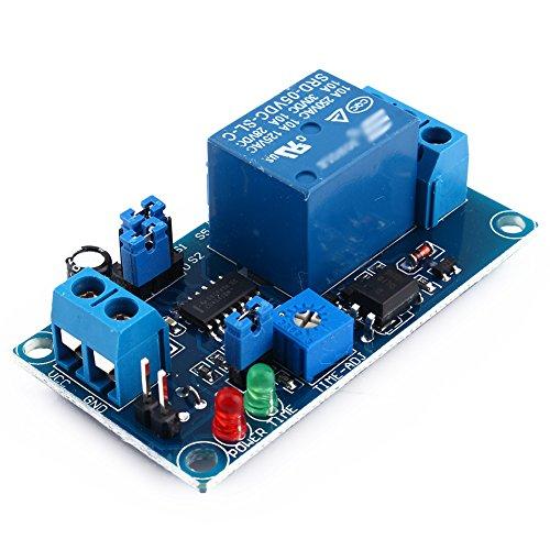 5 V DC Delay Relais Verzögerung mit Timer-Ein-/Ausschalter-Modul (5 V)