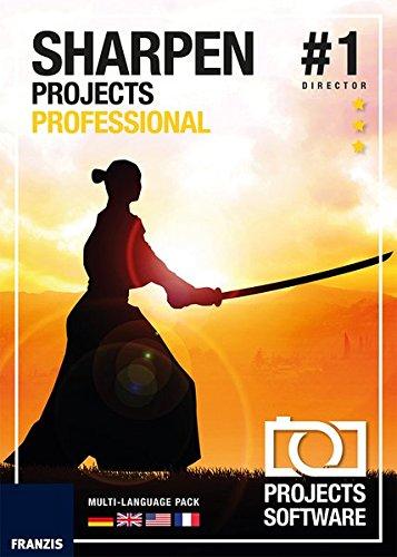 FRANZIS SHARPEN projects professional|1|Für bis zu 3 Geräte|-|Für Windows PC und Mac OS X|Disc|Disc