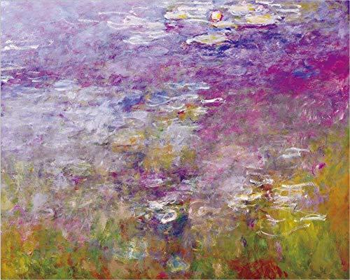 renzhen Imprimir Claude Monet Loto Paisaje Pintura al óleo sobre Lienzo Arte...