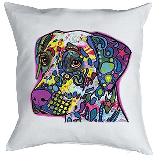 Dalmatian Pillow, oreiller, almohada, Cuscino Pop Art Style