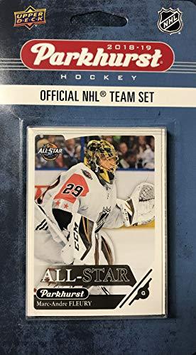 2018 2019 Upper Deck PARKHURST NHL Hockey Western Division All Star Series 10 Karten-Set mit Connor McDavid Patrick Kane Anze Kopitar Marc Andre Fleury und 6 weiteren Spielern