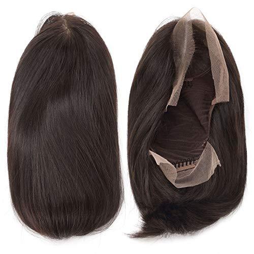HAIRCARE 180 Densité Bob Perruque,Perruques De Cheveux Humains Avant De Dentelle Pré Plumé Droites Courtes Perruques Frontal pour Les Femmes Noires-c 12inches