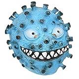 KESYOO コロナウイルスラテックスマスク面白いフェイスマスククリエイティブフェイスカバードレスアップマスクパフォ??ーマンスマスクパーティーフェスティバルハロウィーンマスカレード(ランダムカラー) ハロウィーンパーティー用品