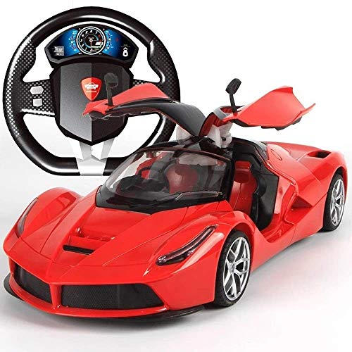 Best Price Woote Wireless Remote Control Racing Drift Open Door Toys for Kids Xmas Gift 1:14 Recharg...