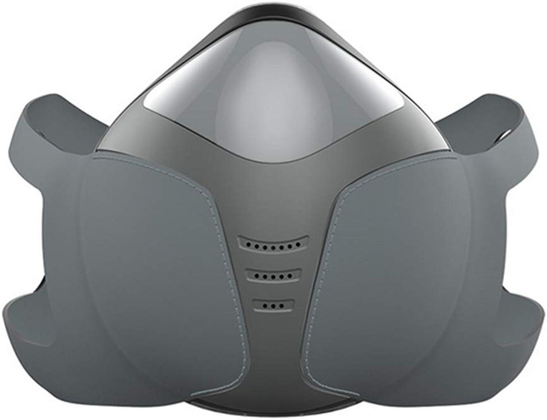 TZTED Anti Staub Halbe Gesichtsmaske Radfahrmaske Intelligent Elektrisch Maske Anti Nebel Auer Pm2.5 Staubdicht Für Outdoor