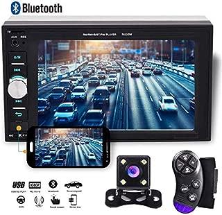 Camecho 2 din Car Multimedia Player 1080P Full HD 6.2