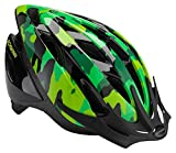 Schwinn Thrasher Bike Helmet, Lightweight Microshell Design, Child, Green Camo