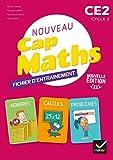 Maths CE2 Cycle 2 CAP Maths: Fichier entrainement, cahier géométrie, livret problèmes et énigmes