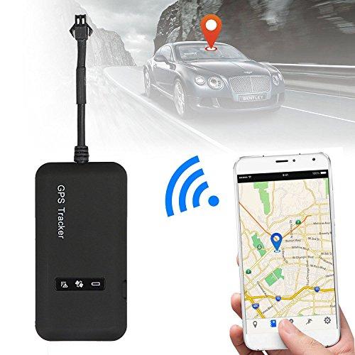 SODIAL Localizador en tiempo real del perseguidor del coche GPS Mini GT02 Dispositivo de seguimiento del GPS del GPS Vehiculo   camion   furgoneta