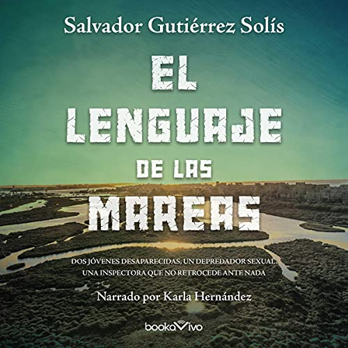 Diseño de la portada del título El lenguaje de las mareas