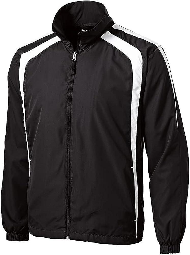 Sport Tek Colorblock Raglan Jacket. JST60