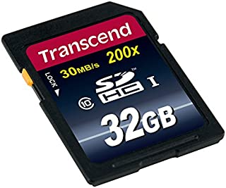 Transcend Extreme Speed SDHC Class 10 Speicherkarte (bis 30MB/s Lesen)