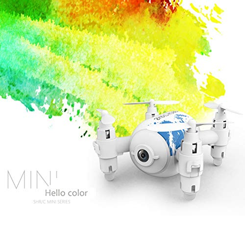 Mrinb SH10 Remote Control Drone, Four-axis HD Aerial Photography, Headless Mode, Mobile APP Smart Contorl, 2.4GH Frequency Control Range of 100m, Follow The Trajectory of The Flight