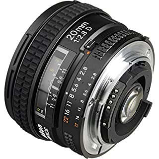 Nikon AF FX NIKKOR 20mm f/2.8D Fixed Zoom Lens with Auto Focus for Nikon DSLR Cameras (B00005LEOC) | Amazon price tracker / tracking, Amazon price history charts, Amazon price watches, Amazon price drop alerts