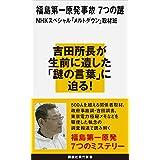 福島第一原発事故 7つの謎 (講談社現代新書)