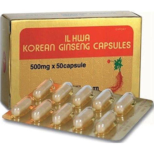 Ginseng Il Hwa 50 cápsulas de Tongil