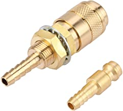 KESOTO 2 Pcs Adaptateur Barbel/é En Laiton Filetage Raccord Connecteur Forme T 14mm