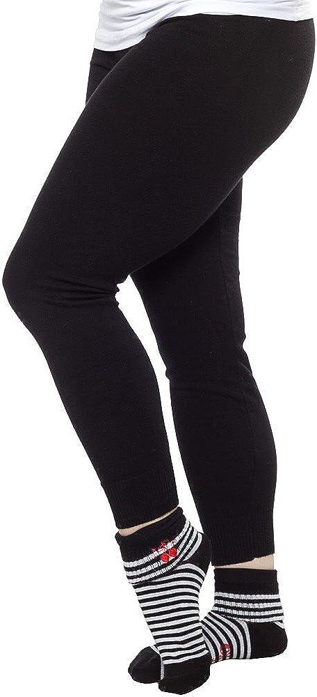 Sourpuss Black Knit Leggings from Clothing