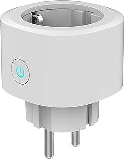 Woox Smart Plug Mini WiFi Enchufe Funciona con el Temporizador Amazon Alexa Asistente de Google IFTTT, No Requiere un Conc...
